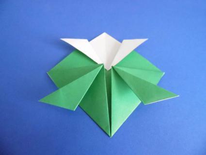 origami turtle step 4