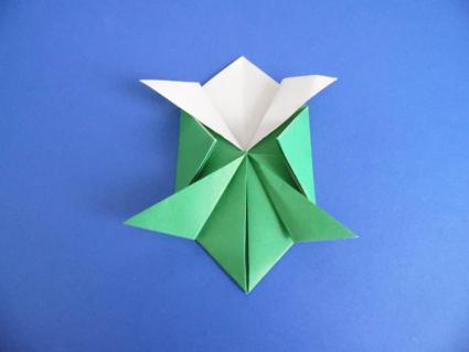 origami turtle step 5