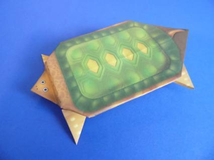 origami turtle