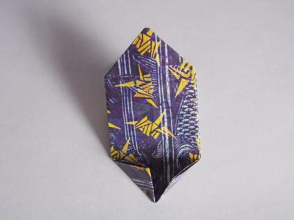 origami bow tie step 3