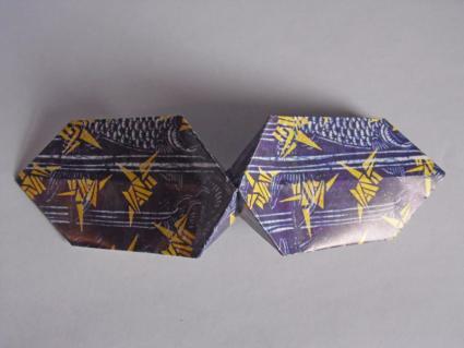 origami bow tie step 4