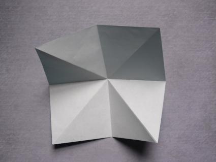 origami dragon step 1