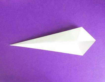 origami unicorn step 2