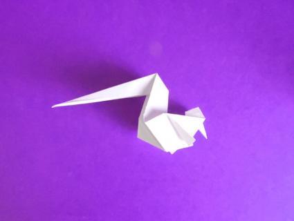 origami unicorn step 7