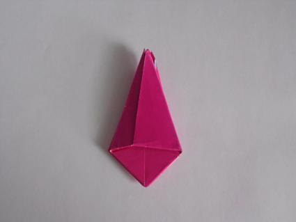 origami tulip step 4