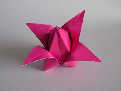 origami tulip step 5