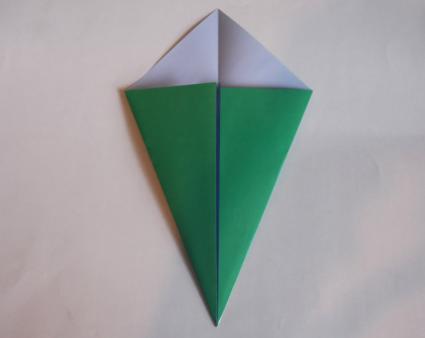 origami tulip step 6