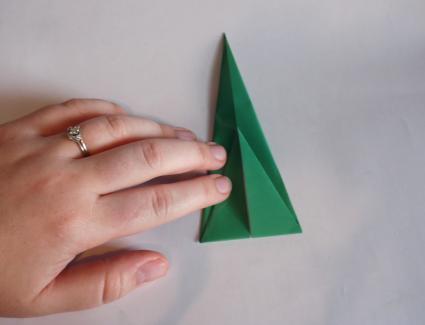 origami tulip step 8
