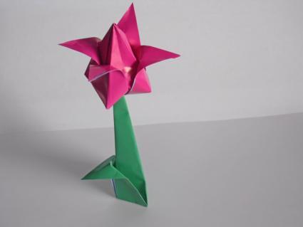 origami tulip step 9