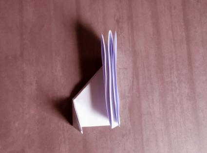 origami wolf step 4