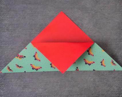 origami pocket step 02