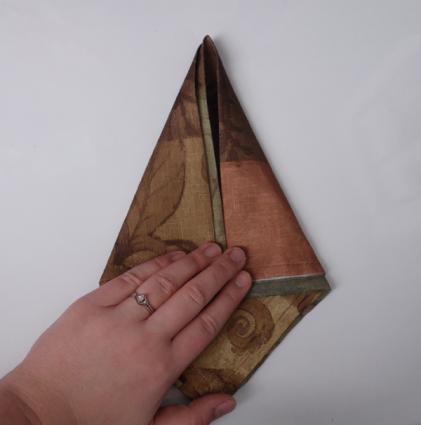 napkin origami swan 02