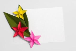 origami cards and envelopes