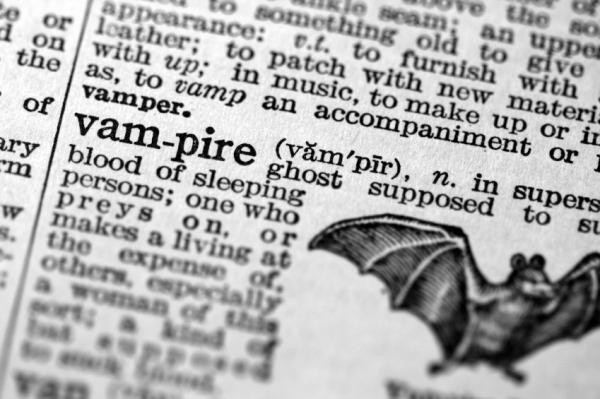 Vampire Definitions - where do you start?
