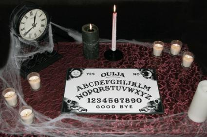 Ouija board; copyright Christina Anderson at Dreamstime.com