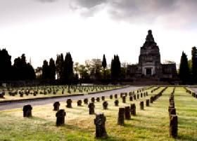 Old majestic cemetery