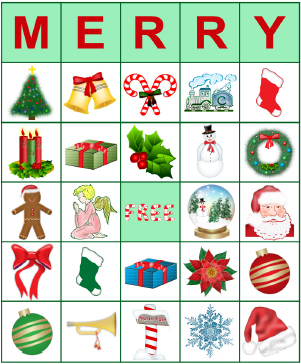 printable bingo cards for christmas | lovetoknow