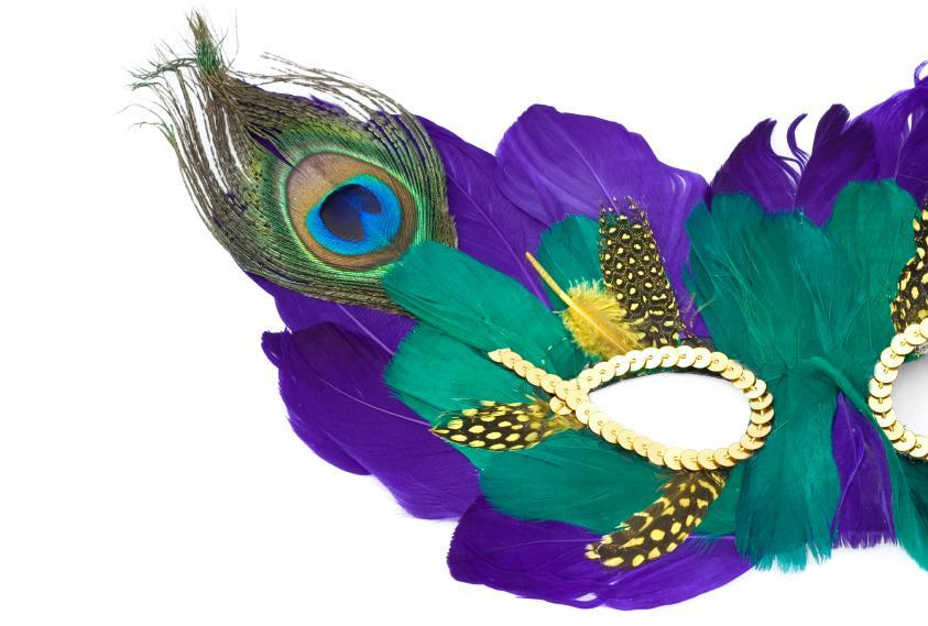 mardi gras colors slideshow