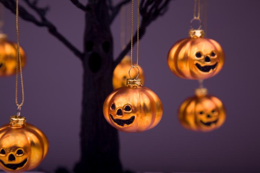 pumpkin ornaments - Halloween Tree Ornaments