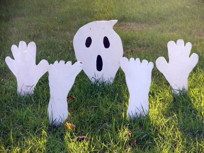 outdoor ghost source porch decorations