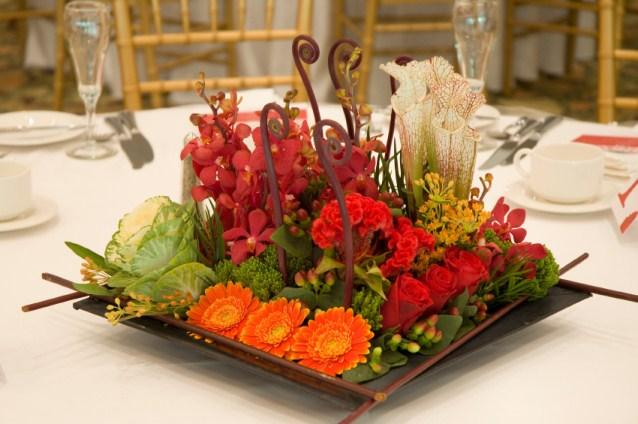 Dinner party centerpieces slideshow