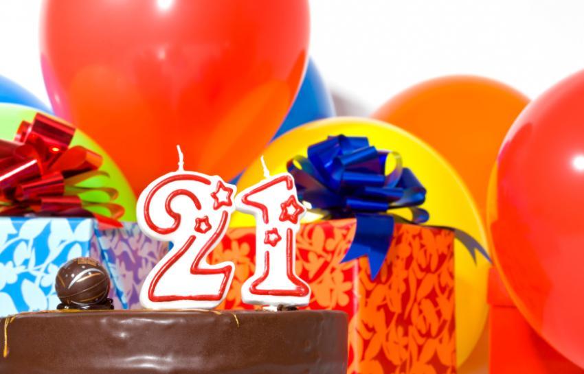 Поздравление с днем рождения в 21 год 40