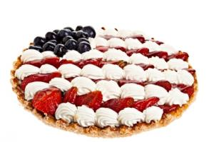 Fruit Pizza for Independence Day