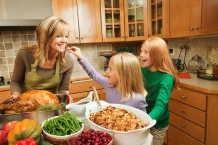 Prepare Thanksgiving Meal Together