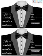 Black Tie Invite