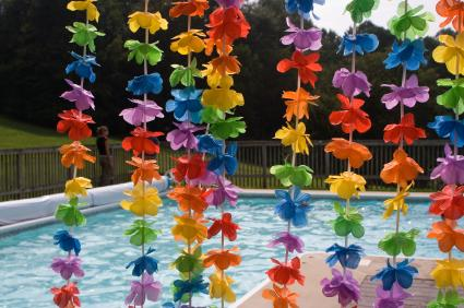 Pool Party Decorations Ideas swimming pool decor for outside weddings wp eventos mexico acapulco weddings wedding ideas pinterest lakes wedding Luau Decorations