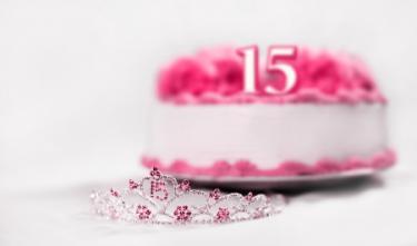 15th cake