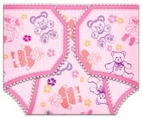 Girl Diaper Invitation