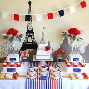 French party theme decorations