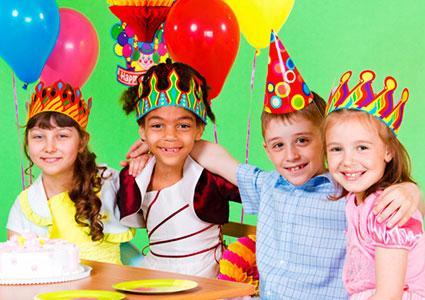 Kids birthday crown favors