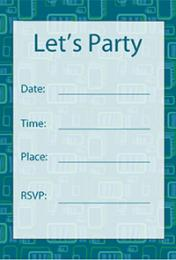 Rectangle Border Invite