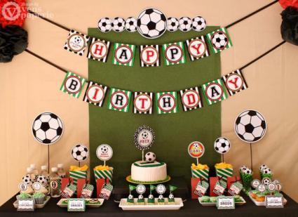 Food Ideas For A Football Birthday Party