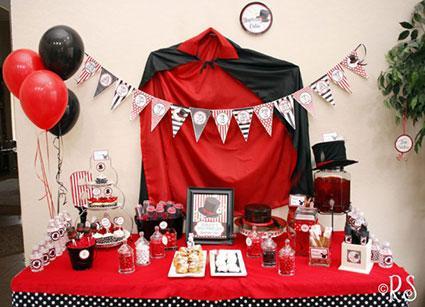 Magic Themed Birthday Party Ideas
