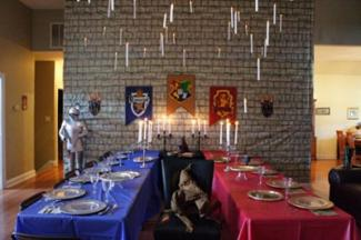 Harry Potter Great Hall Decorations