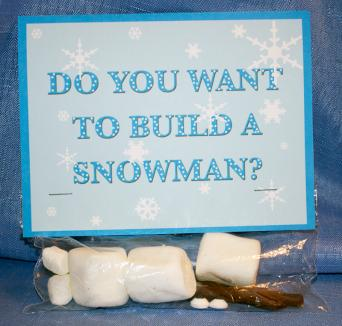 Do you want to build a snowman kit