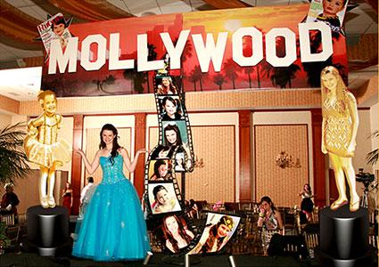 Bat Mitzvah Mollywood Party Decorations