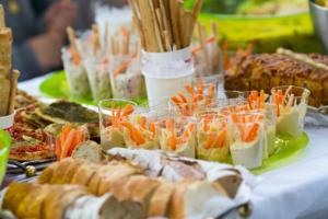 party food ideas buffet finger foods