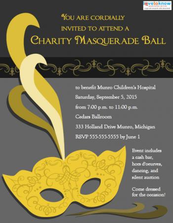 masquerade ball invitation templates, Invitation templates