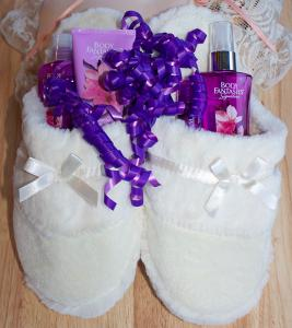 slippers gift wrap