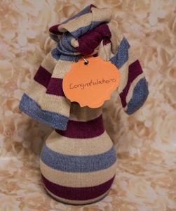 socks gift wrap