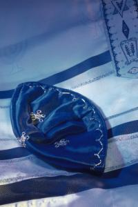 Tallit and yarmulke