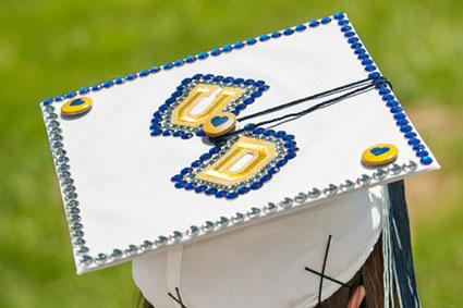UD Decorated Graduation Cap