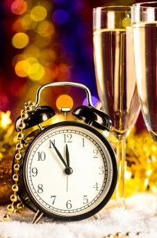 New Years countdown