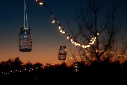 Mason jar decoration