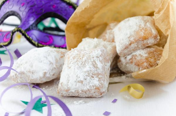 Traditional New Orleans beignets