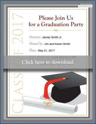 2017 college graduation party